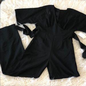 NWT BLVD Black Jumpsuit Small